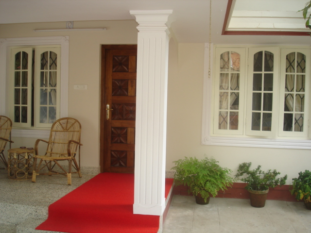 fort cochin vacation rental villa entrance