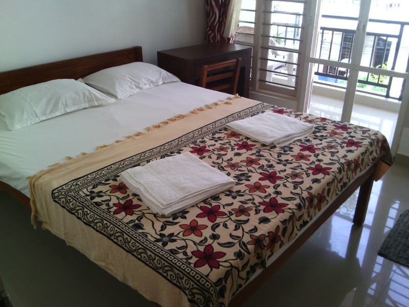bedrooms with garden view in fort cochin homestay nathans holiday home